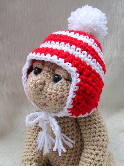 Amigurumi Earflap Hat : 120 best images about FBF Dolls on Pinterest Amigurumi ...