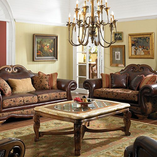 117 best tuscan furniture images on pinterest antique furniture tuscan decorating and tuscan for Tuscan living room furniture