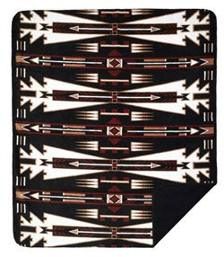 Native American patter throw