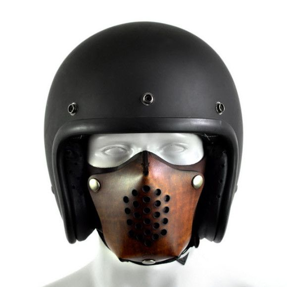 Leather Motorcycle Face Masks by Sunday Academy_3