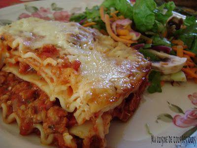 lasagne aux saucisses italiennes