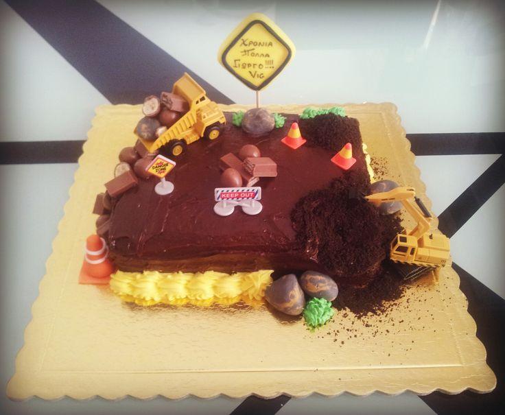Construction cake!
