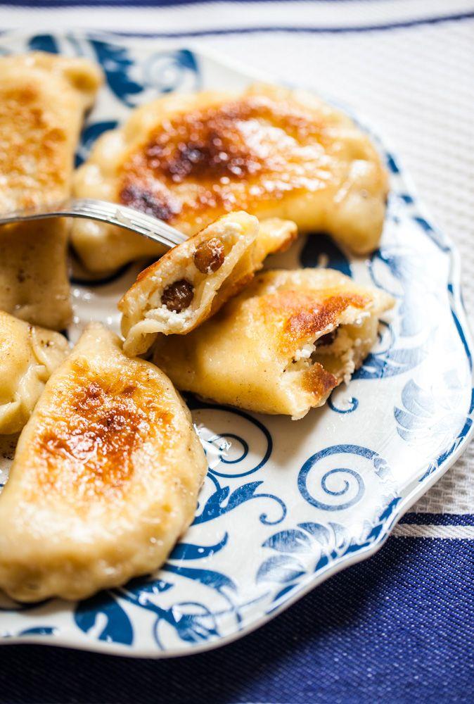 Pierożki z serem na słodko