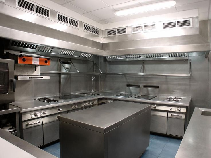 Cocinas de restaurantes peque os planos buscar con Diseno de cocinas industriales pequenas