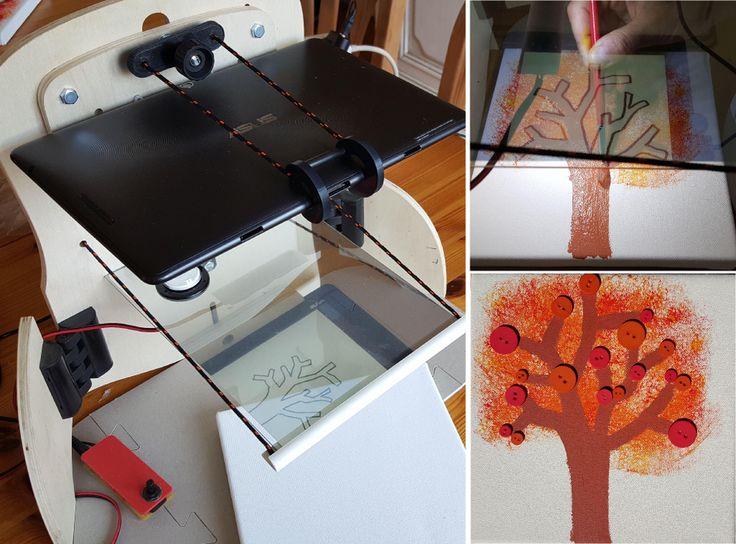 Week-end estival, réalisation automnale! Arbre d'automne avec @QroKee Autumn Tree with @Qrokee #kickstarter #autumn