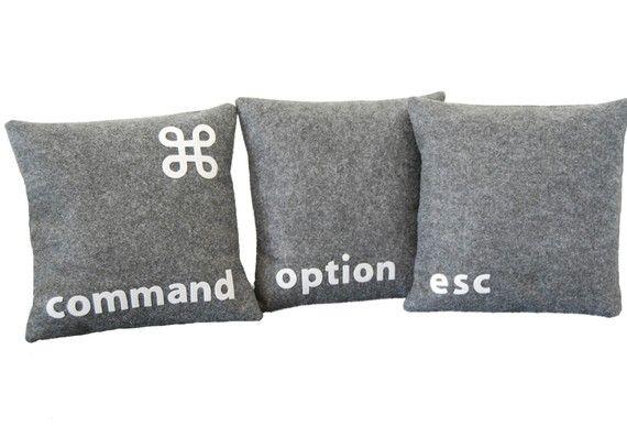 Cool pillows :)