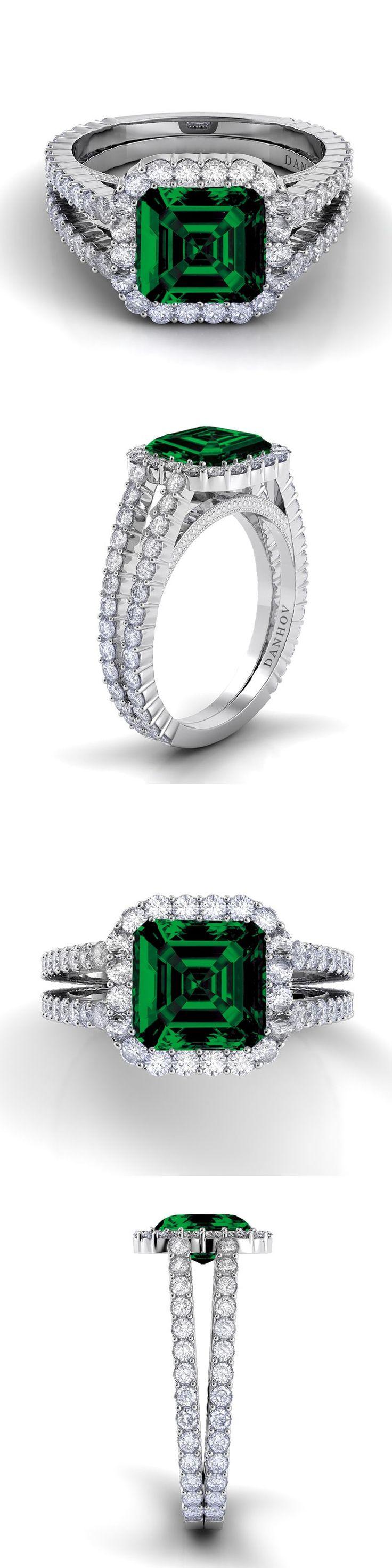 93 best Gemstone Engagement Rings images on Pinterest