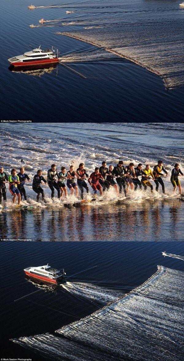 Esquiar en el agua