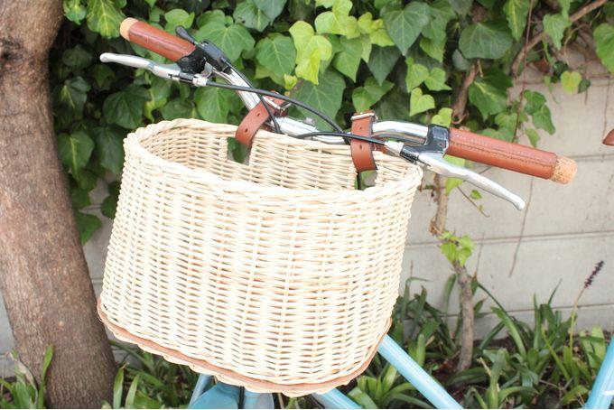 Hand Woven Bicycle Baskets by Ubuntu Bikes