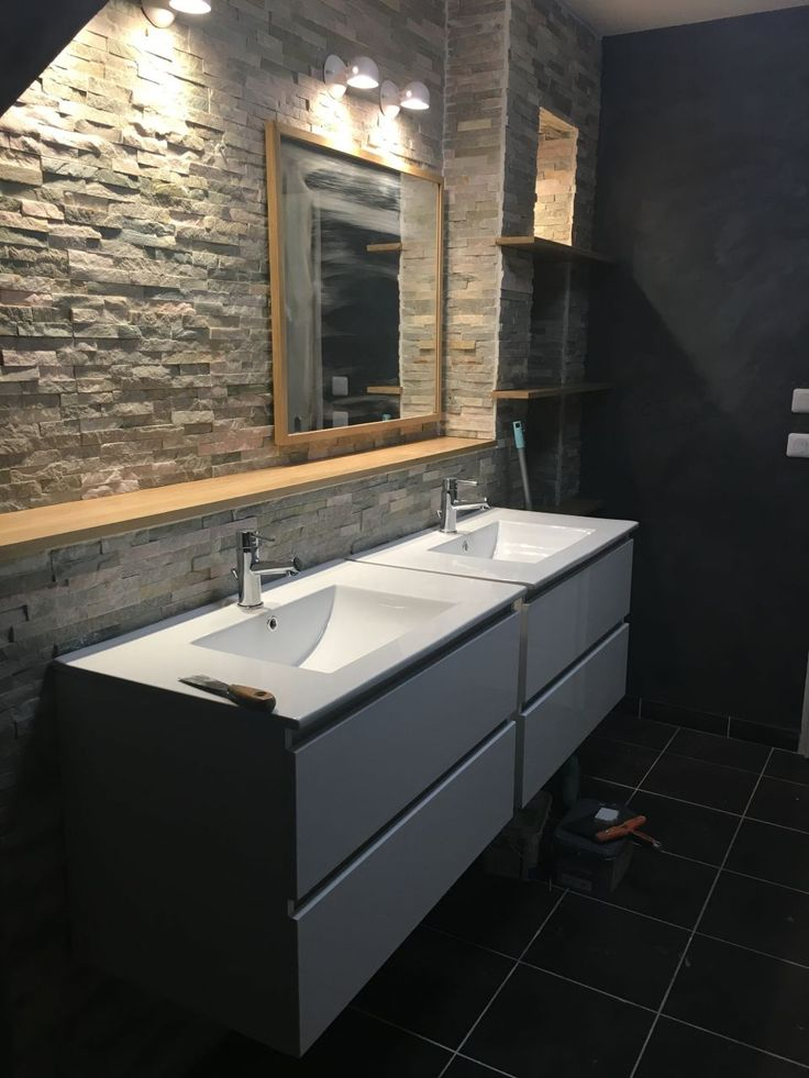 59 best Salle de bain images on Pinterest Bathroom, Future house - photo faience salle de bain
