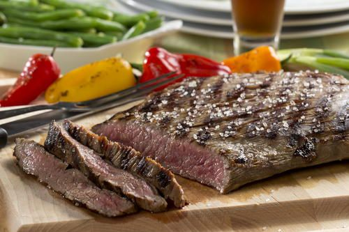 When you get the urge for a good steak, but without the steakhouse price tag, just make our recipe for Steakhouse London Broil. This tender-cooked steak is topped with buttery mushrooms, fresh herbs, and tasty steak seasoning, making it taste extraor