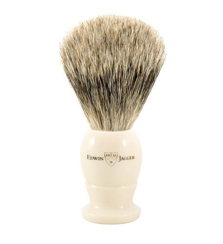 Edwin Jagger Best Badger Shaving Brush in Ivory Medium >>> Check this awesome product by going to the link at the image.