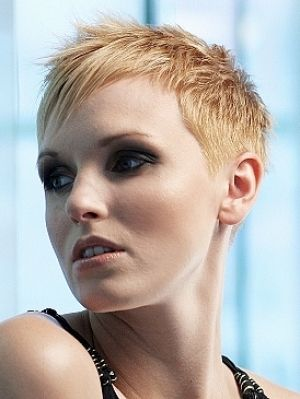 Very Short Shaved Hairstyles For Women Short Womens Hair