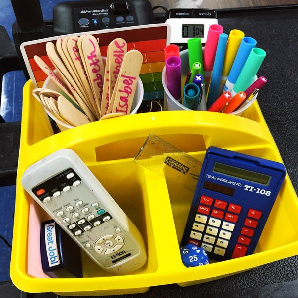 Teachers love post-it notes and fun colored pens. We can always be counted on to have the latest and greatest of school supplies. But, what else does a teacher need at their desk? *The two links below are amazon affiliate links for your convenience. Your local Walmart or Target should carry both. 1. Hair Tie: …