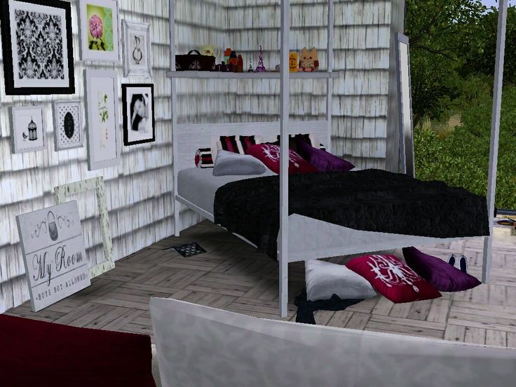 Bedroom Designs Sims 3 73 best sims 3 design inspiration images on pinterest | sims 3