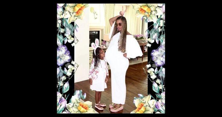 Sa petite Blue Ivy fan de son ventre rond                      Le temps de faire le tri de toutes les photos prises la semaine dernière lors de la célébration de Pâques en famille, avec sa... http://www.purepeople.com/article/beyonce-enceinte-de-jumeaux-sa-petite-blue-ivy-fan-de-son-ventre-rond_a232306/1