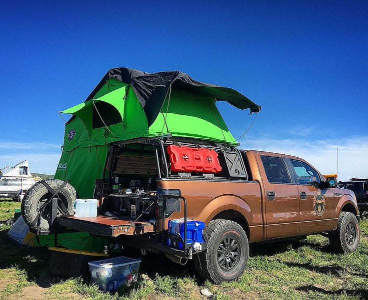 Full size truck overland adventuremobile are popular