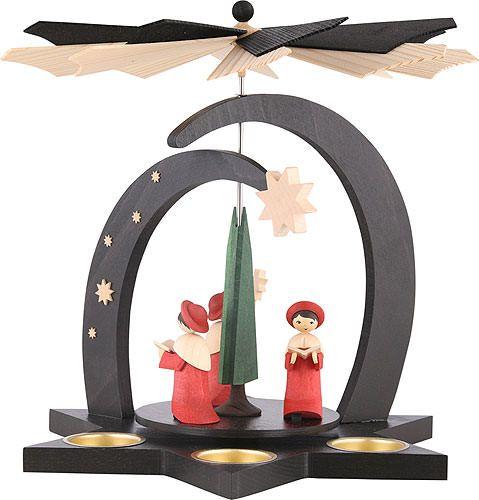 1 stöckige Pyramide Kurrende #weihnachtspyramide #weihnachten #advent