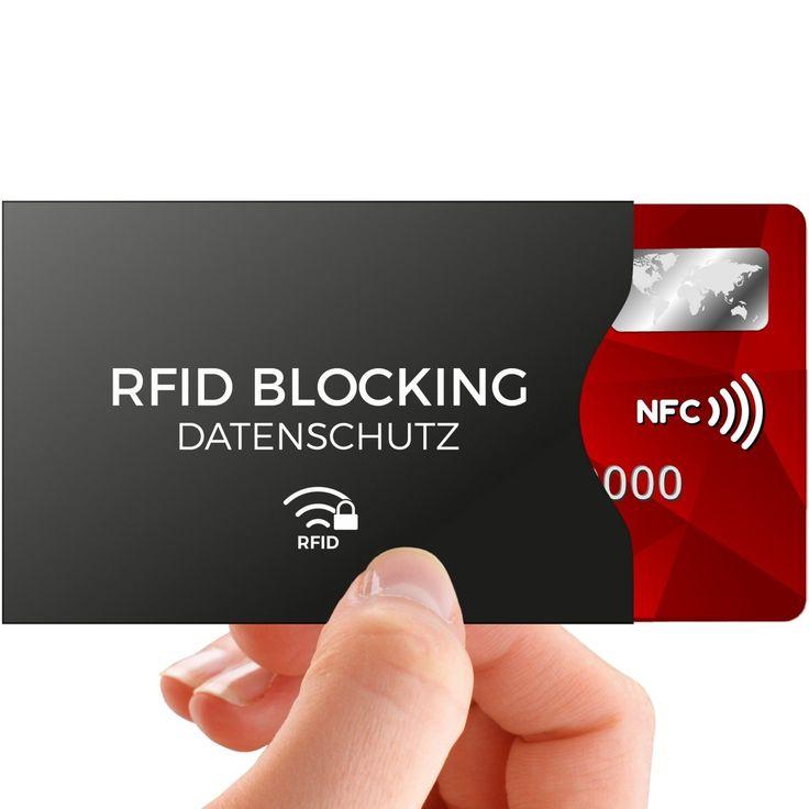 rfid blocking nfc schutzh llen 12 st ck f r kreditkarte. Black Bedroom Furniture Sets. Home Design Ideas