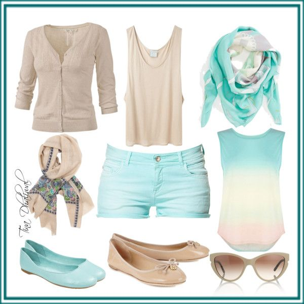 """""""dressy casual summer outfit"""" by tinadhaliwal on Polyvore"""
