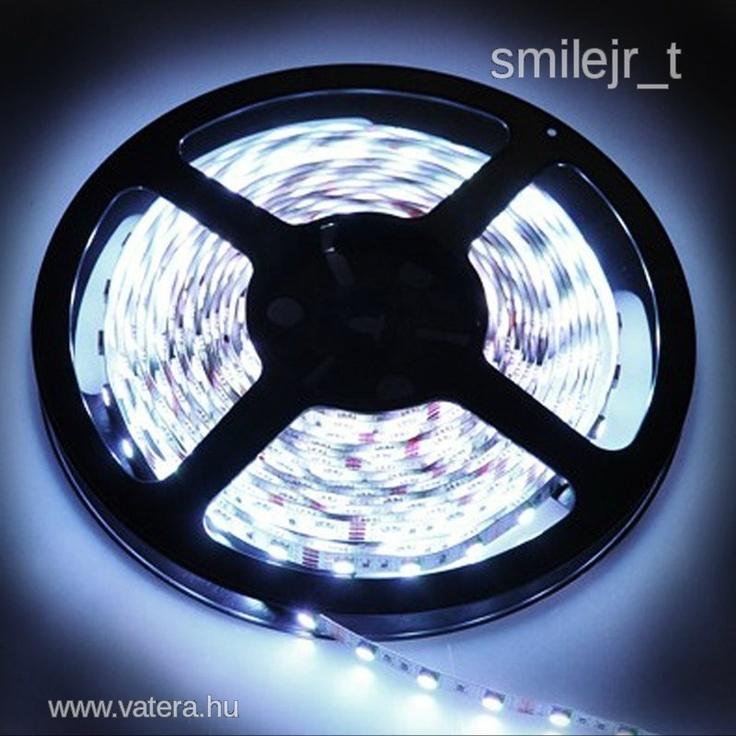 LED szalag 60LED/m ledsor AKCIÓ!!! korrekt posta! - 470 Ft - Nézd meg Te is Vaterán - Izzó, led, égő - http://www.vatera.hu/item/view/?cod=1751985578