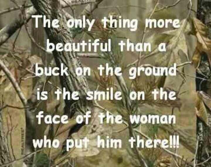 Smiling in deer hunting is acceptable. :-)