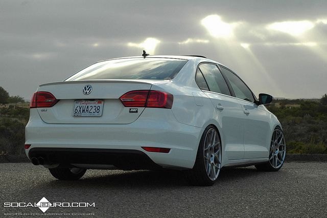 SoCalEuro Projekt VW GLI Sunset on HRE FF01 by SoCalEuro, via Flickr