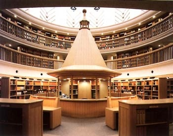 International Research Center for Japanese Studies : Library, Kyoto, Japan   国際日本文化研究センター図書館