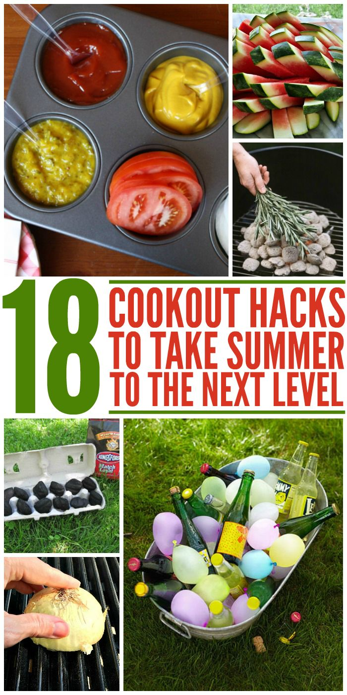 18 Cookout Hacks to Take Summer Entertaining to the Next Level - One Crazy House