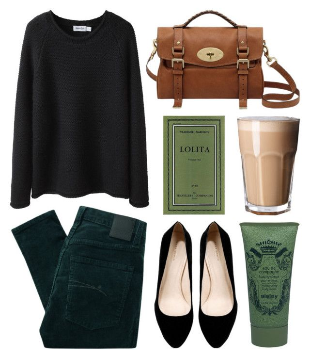Untitled by hanaglatison on Polyvore featuring Steven Alan, Nobody Denim, Zara and Sisley Paris