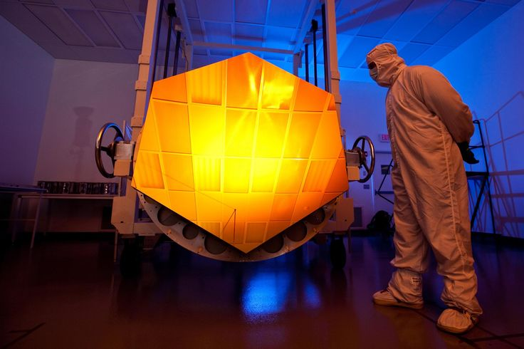 """More than 20 years after construction started, the James Webb Space Telescope is complete.  The successor to the iconic and groundbreaking Hubble is expected to launch by 2018 following in-depth testing.  NASA Administrator Charles Bolden made the announcement at Goddard Space Flight Center, overlooking the massive infrared light collecting mirrors. """"Today, we're celebrating the fact that our telescope is finished, and we're about to prove that it works,"""" said John Mather, an astrophysicist…"""