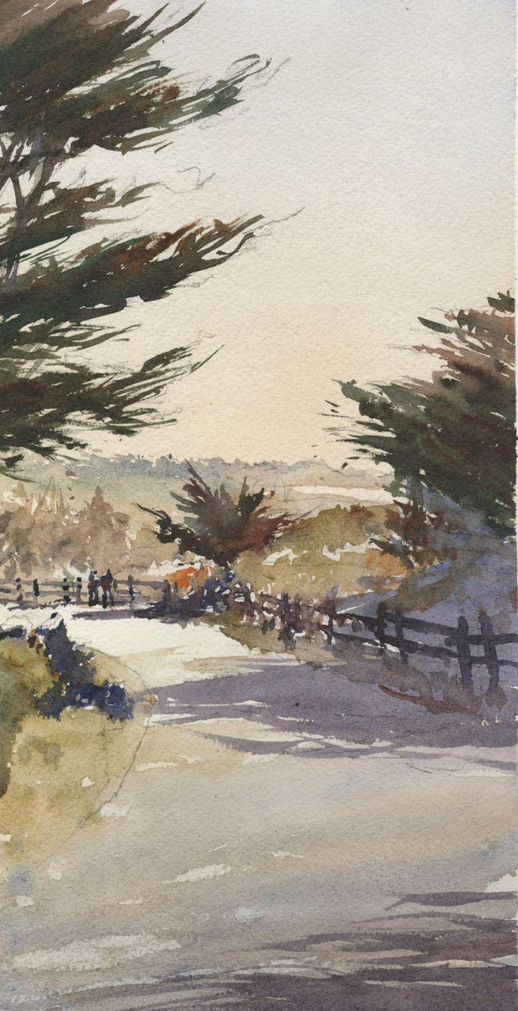 Watercolor artist magazine palm coast fl - Michael Reardon