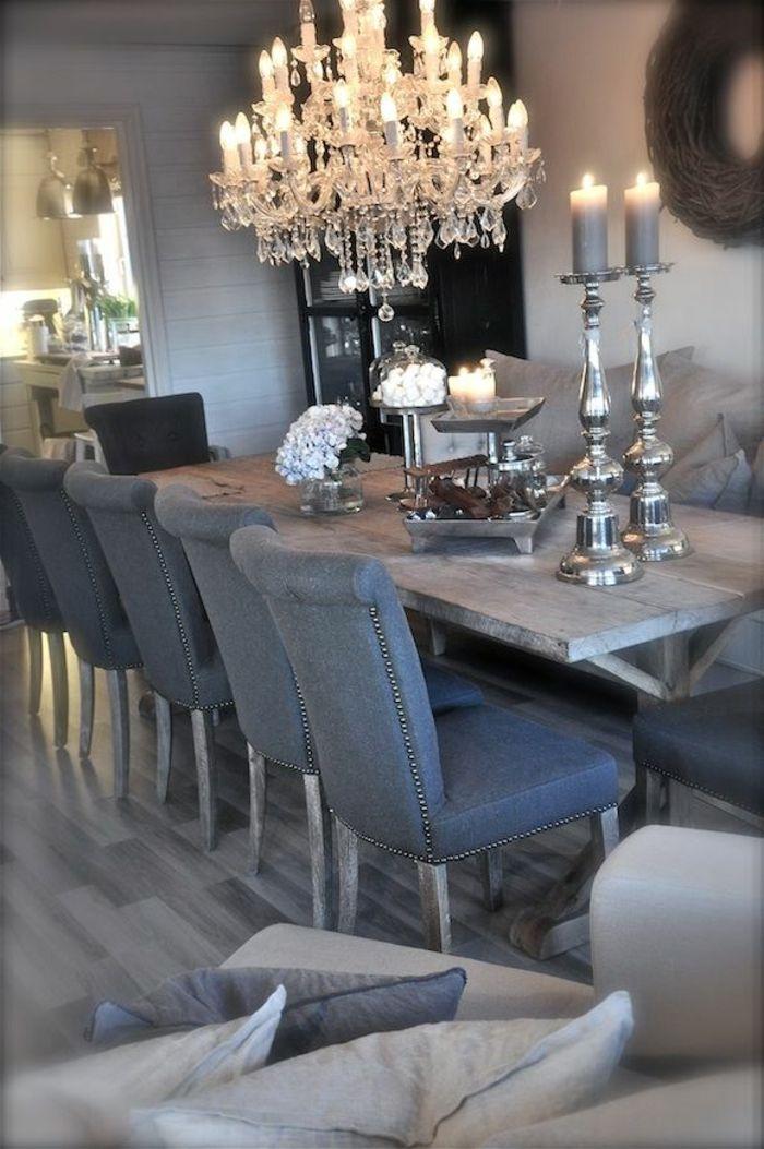 Eleganter kronleuchter ausgefallene deko sch ner for Esszimmer deko