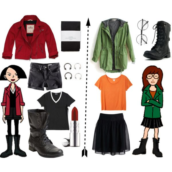 """Daria & Jane"" by itneverends96 on Polyvore"