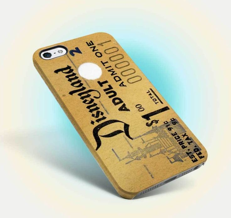 disneyland ticket vintage design iphone case apple 6 6s old oldies family 06 #UnbrandedGeneric