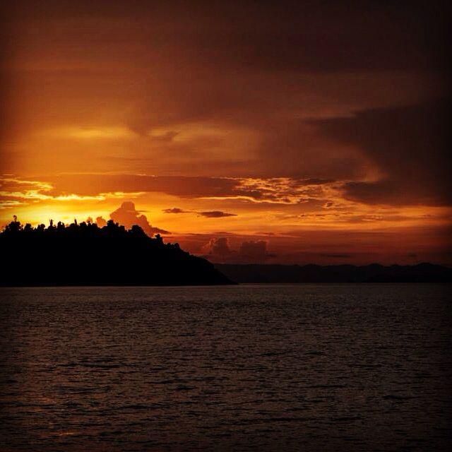 Sunset Mergui Archipel