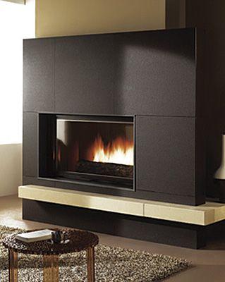 17 mejores ideas sobre estufas modernas en pinterest for Estufa hogar moderna