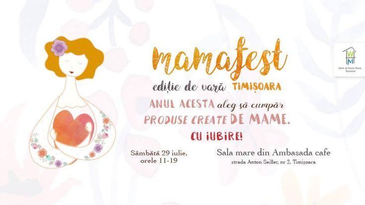 MAMA FEST, o oaza de bine si rasfat pentru familia ta intr-un festival de mestesuguri, artizanat si ateliere create de mame! Cu siguranta vei aprecia cu pofta ce am dospit in cinstea ta!
