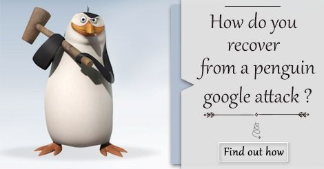 Is your website traffic & ranking is affected by #GooglePenguin? Then read our latest blog to find out how to recover your website from #Google #PenguinUpdate.