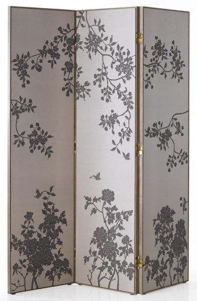 Diy Room Divider Plywood And Wall Paper Love The Idea But