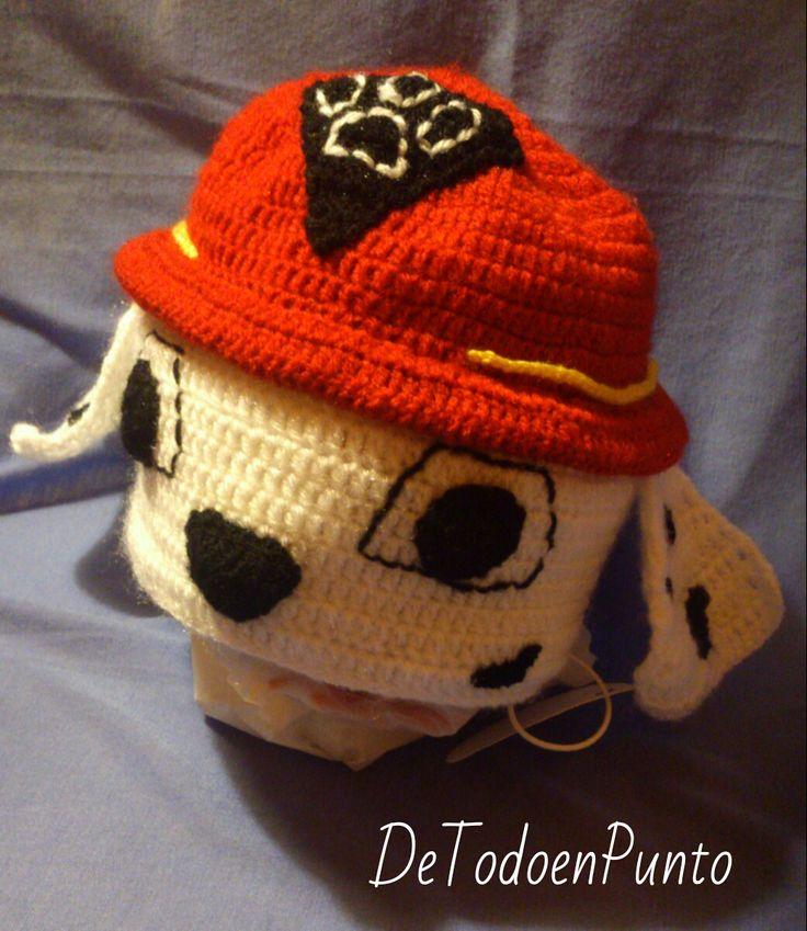 Moderno Patrones De Crochet Sombrero De Perro Libre Molde - Manta de ...