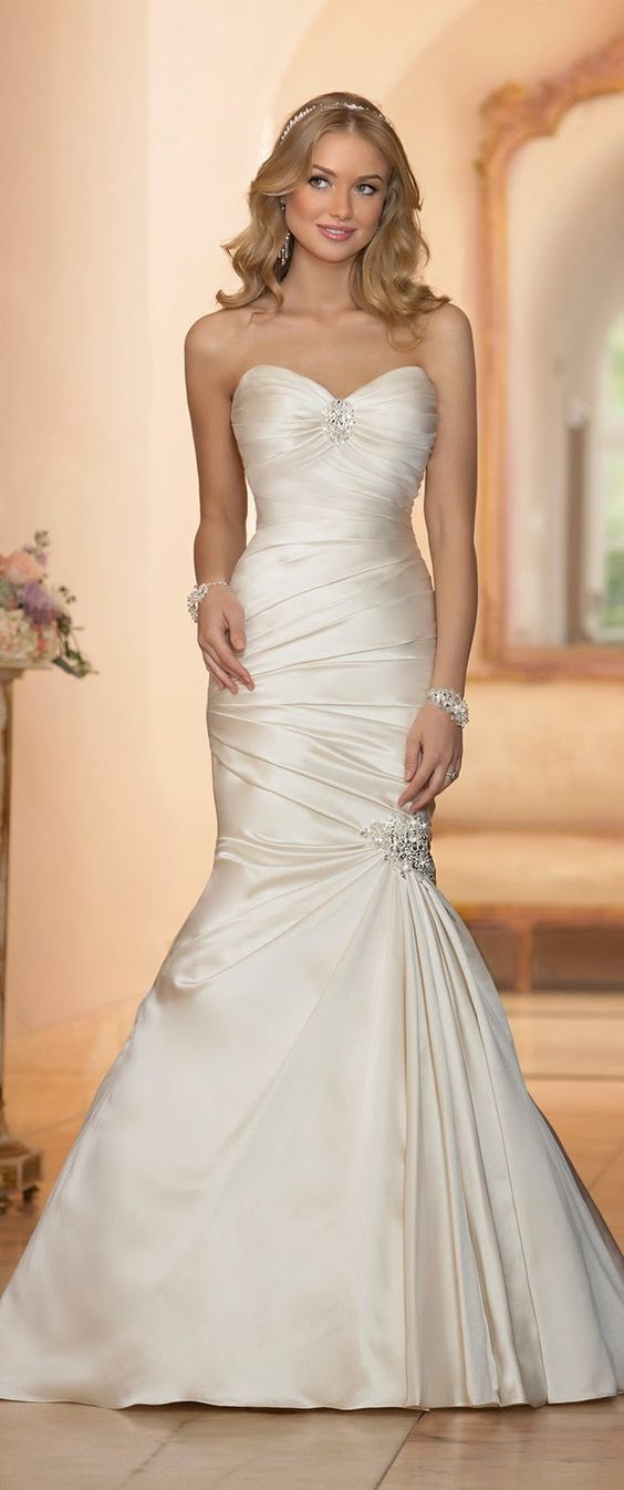 Stella York Mermaid Sweetheart Wedding Dress / http://www.himisspuff.com/mermaid-wedding-dresses/16/