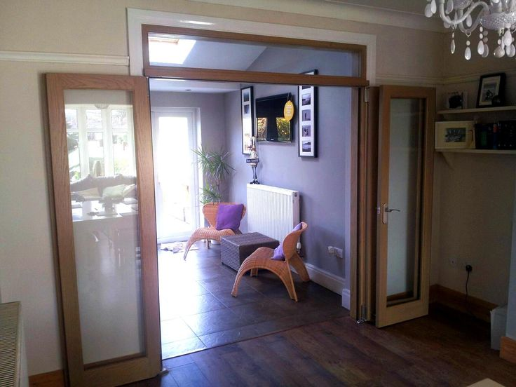 Fully open wrapped against the wall view of the Vufold Inspire Internal Room Divider Door Preston & 42 best Internal Bi fold doors images on Pinterest | Bi fold doors ... pezcame.com