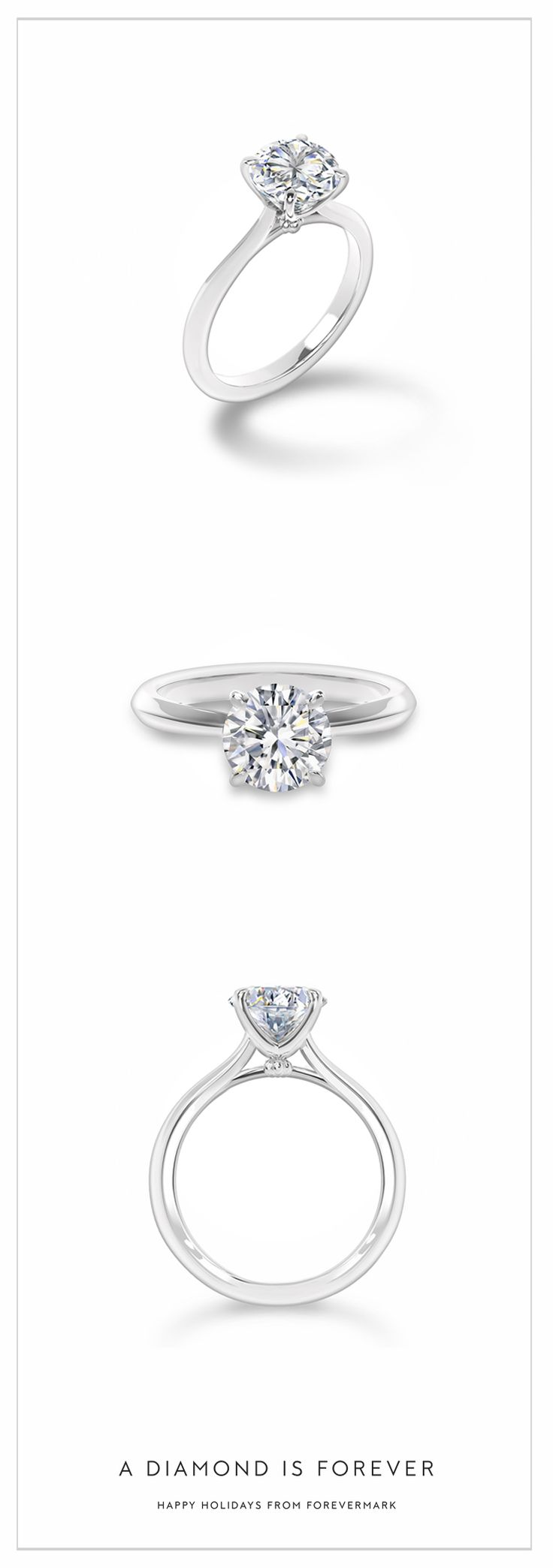 monogram wedding simply ring tacori engagement rings
