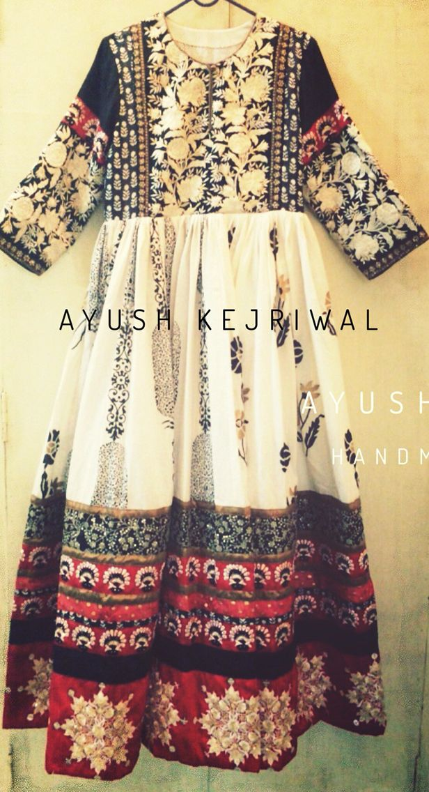 Anarkali frock dress by Ayush Kejriwal For purchases email me at ayushk@hotmail.co.uk or what's app me on 00447840384707