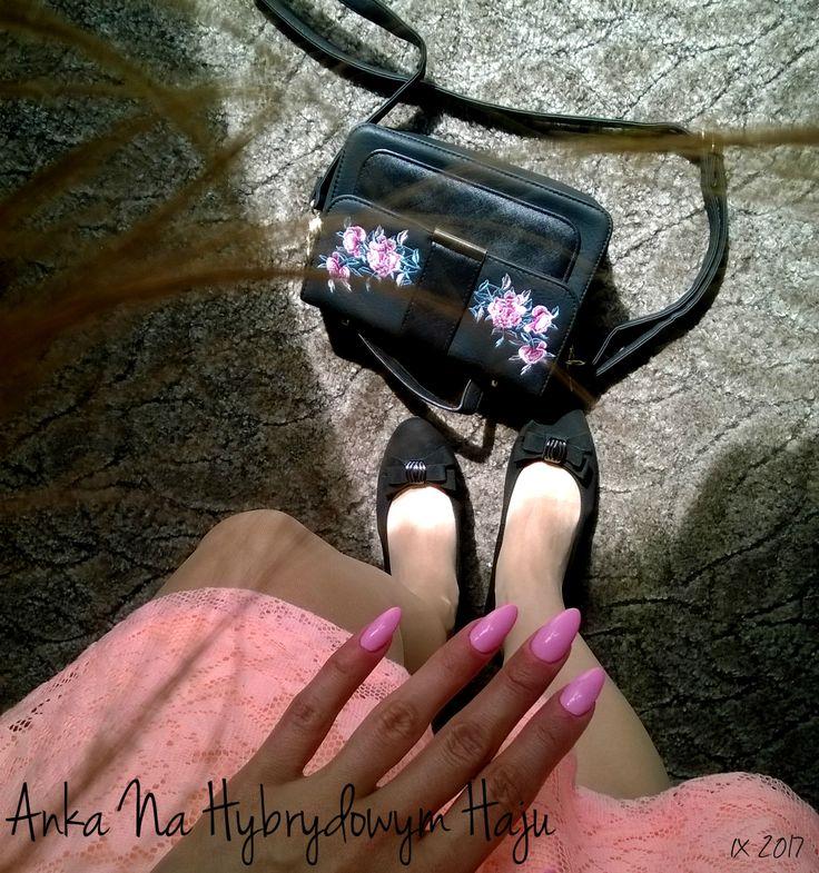 https://www.facebook.com/AnkaNaHybrydowymHaju/  #paznokcie #pazurki #manicure #hybrydy #AnkaNaHybrydowymHaju #Nails   #różowepaznokcie #pinknails #róż #różowy #różwe #pink #sukienka #torebka