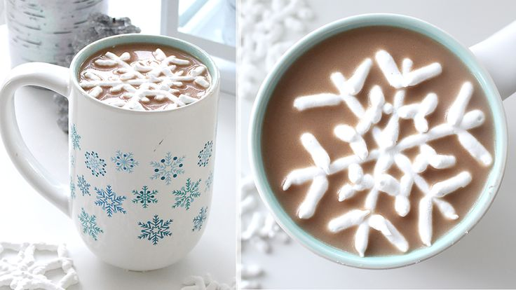 VIDEO TUTORIAL: How to make Snowflake Marshmallows for Hot Chosolate
