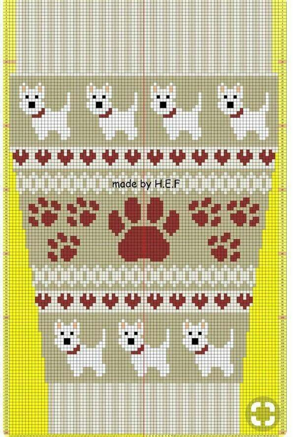268 best Fair Isle Colorwork Patterns images on Pinterest ...