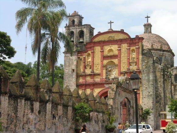 Catedral de Cuernavaca, Morelos.