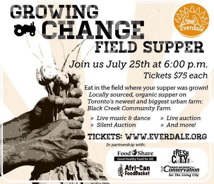 Growing Change Field Supper - July 25,2013